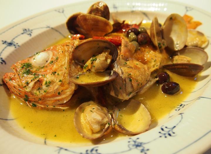 この料理に感動した『こだわりの一皿』|鮮魚のアクアパッツァ|アクアパッツァ|広尾