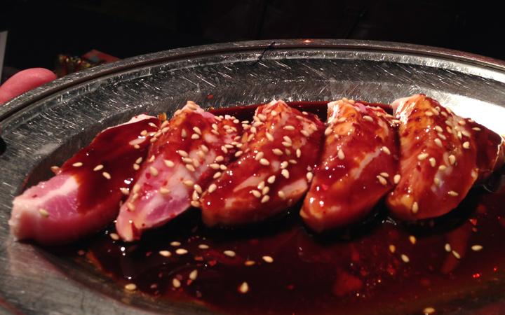 編集部が訪れた美味しい名店『足跡レストラン』|旨焼もぐり|広尾