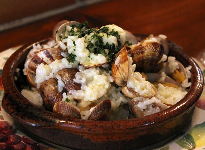 この料理に感動した『こだわりの一皿』|バスク地方のあさりごはん|Bar Enrique(バル エンリケ)|中目黒