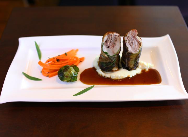 この料理に感動した『こだわりの一皿』|仔ウサギの焼きロールキャベツ|ビストロ・パピエドレ|渋谷