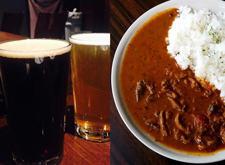 この料理に感動した『こだわりの一皿』|麦酒カレー|BEER BAR うしとら|下北沢