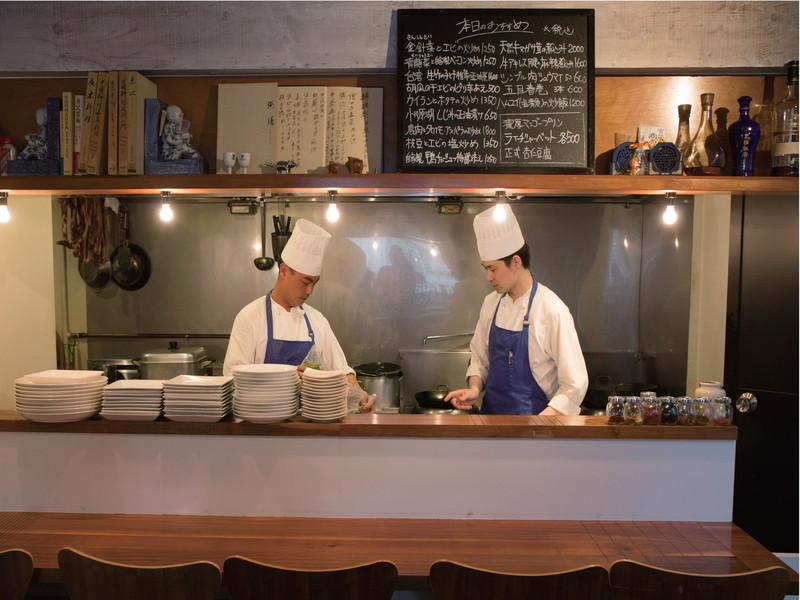 #9|注目の東京ハイカジ中華料理店 「名店から独立した店主が営む店」