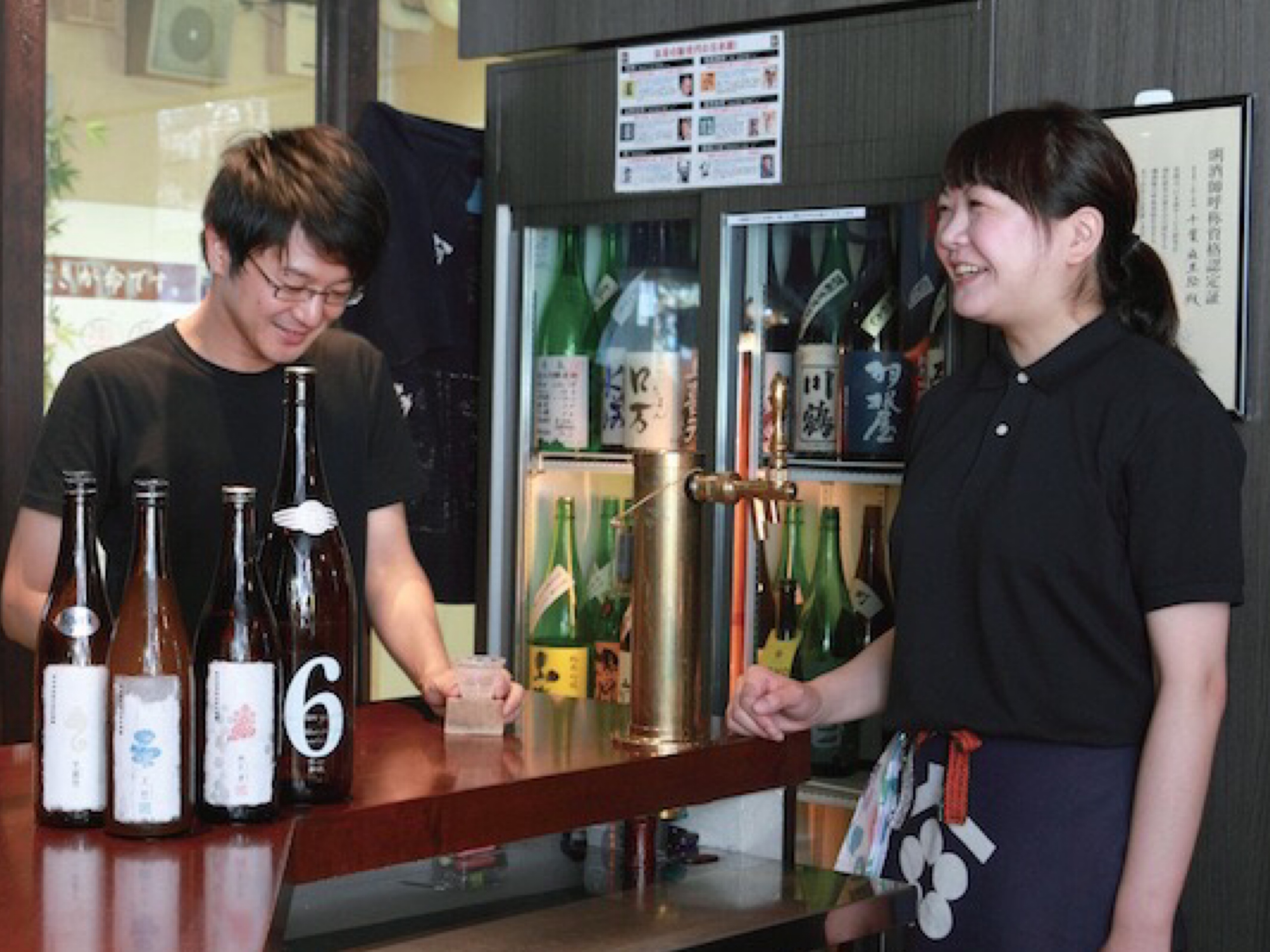 #2|初心者からマニアまで!頼りがいのある店主がいる店『日本酒スタンド酛』新宿三丁目