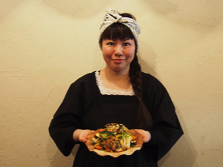 """【料理家ラボ】伴 奈美さん """"おつまみにもなる、ヴィーガンメニュー!"""""""