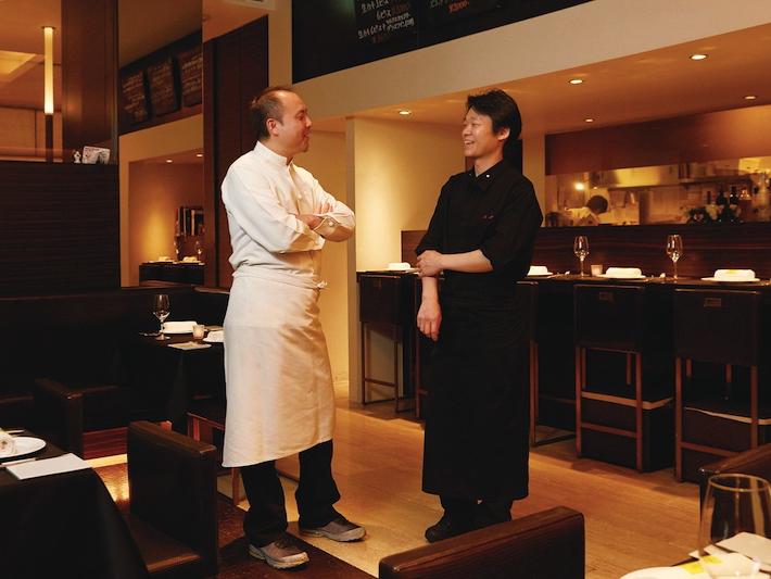 【血統の一皿】ランベリービスー表参道ー:三田幸輔さん「名店が生んだシックなビストロ」