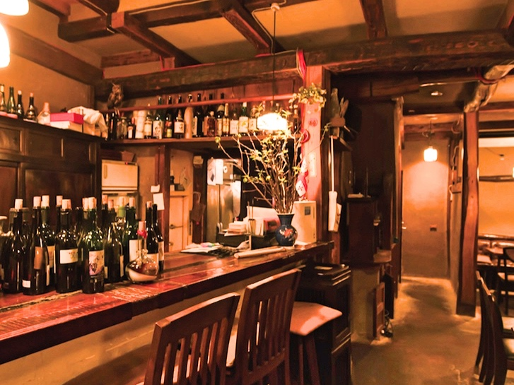 |和食とワイン|東京「和食とワイン」の名店|和の文化とワインに触れる古民家ダイニング「葡呑」ー西麻布ー