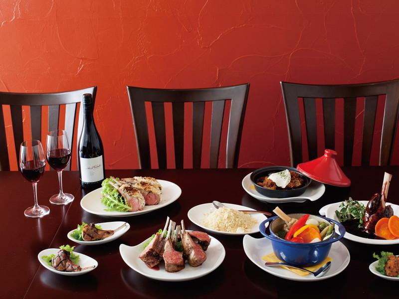 #8|羊料理の魅力を味わえる店④羊肉のエキスパートが展開するラム料理専門店「WAKANUI LAMB CUISINE ■ JUBAN」