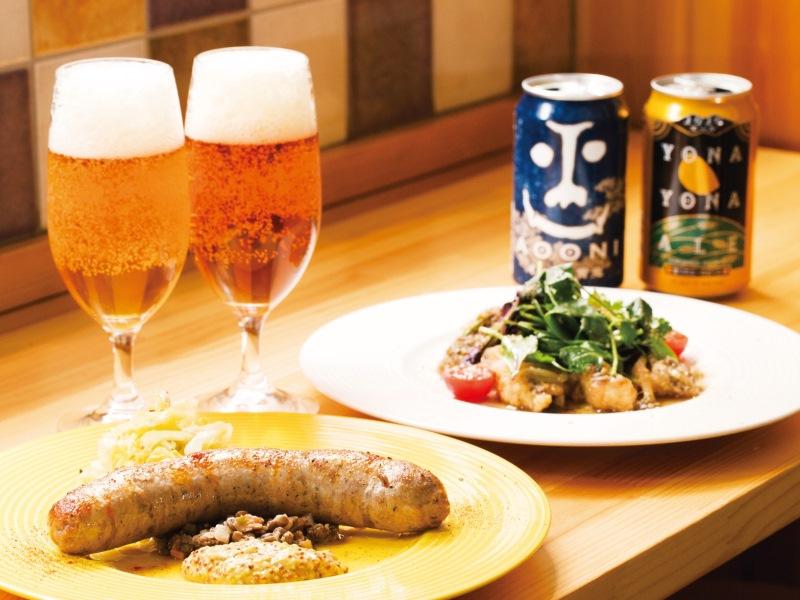 |TOKYO BEERNISTA|本郷「桃の実」 独創的な料理に、あの名ブリュワリーの一杯を
