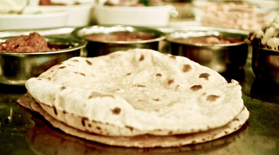 ✈︎WORLD FOOD PORT. インド発・ チャパティ>ナン