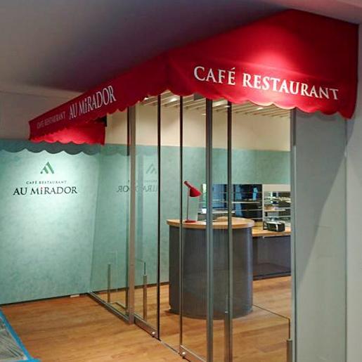cafe restaurant au Mirador