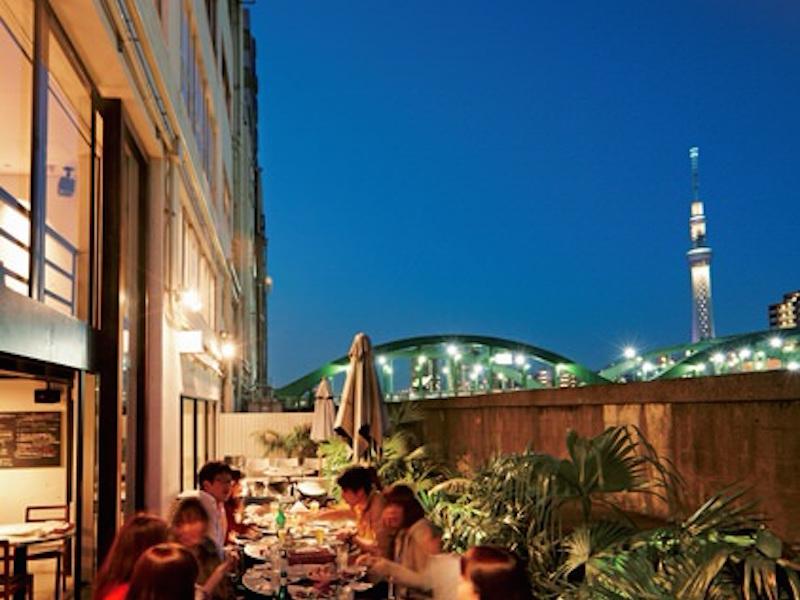 #10|[月見レストランガイド]テラスや屋上でディナーが気持ちいい!〜リバーサイドカフェ シエロイリオ(蔵前)〜
