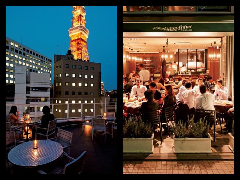 #12|[月見レストランガイド]テラスや屋上でディナーが気持ちいい!〜赤羽橋と中目黒の2軒〜