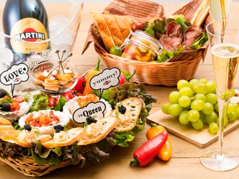マルティーニでパーティ気分を味わおう! 「マルティーニ ガーデン ラウンジ」5月19日から日比谷公園にオープン!