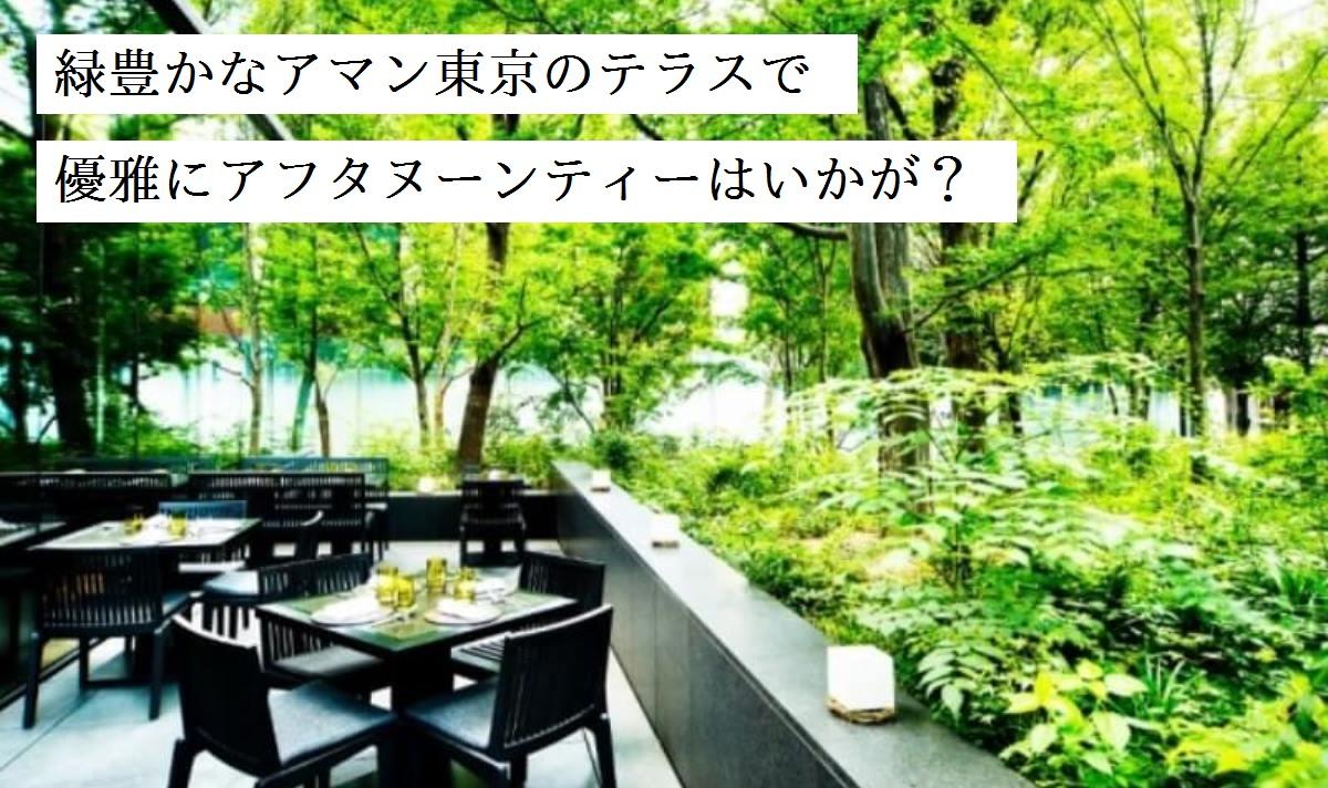 都心の森で優雅にティータイムを! アマン東京「ザ・カフェ by アマン」で特別なスイーツセット登場