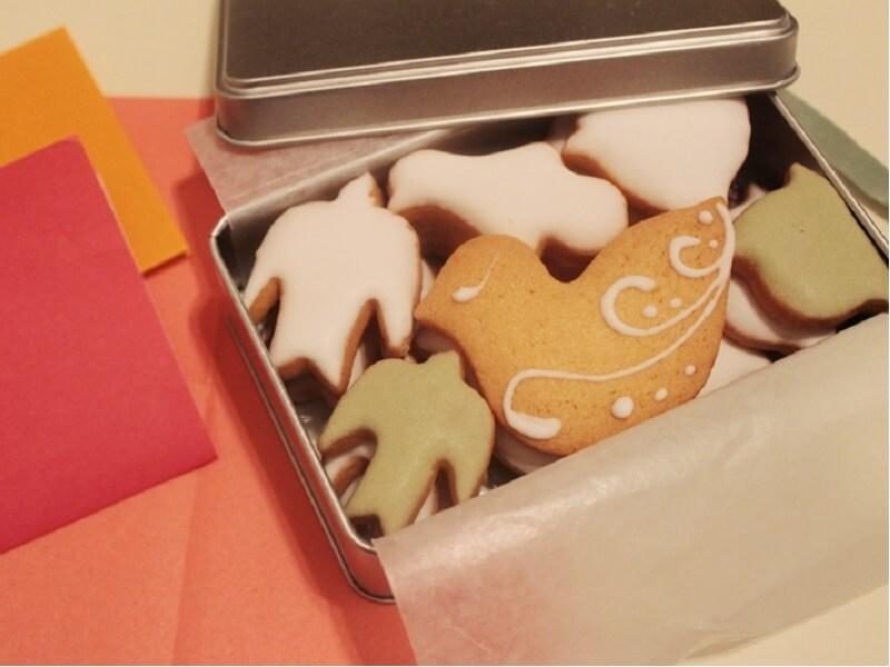 |季節のおくりもの|レモンの爽やかな風味が心地よい ルスルスの「鳥のかたちのクッキー」