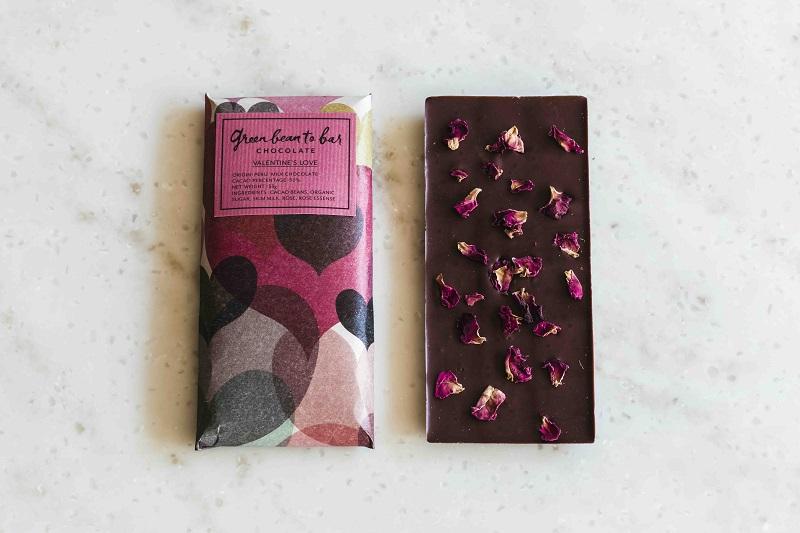 季節のおくりもの|green bean to bar CHOCOLATEの「チョコレートバー」