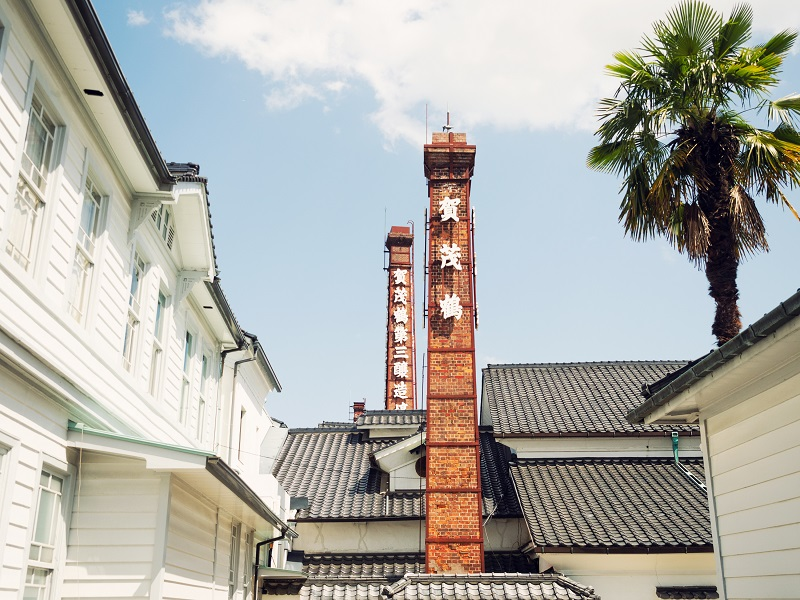Scenery Where Rich Japan is Created:Kamotsuru|美しい日本が生まれる風景:賀茂鶴酒造
