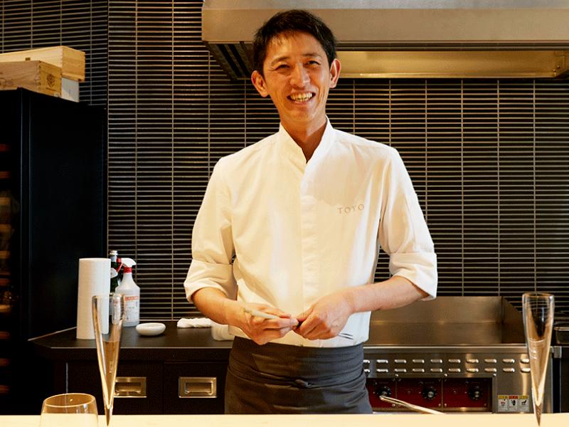 シェフの必需品|日比谷|「Restaurant TOYO Tokyo」大森雄哉 ~前編~
