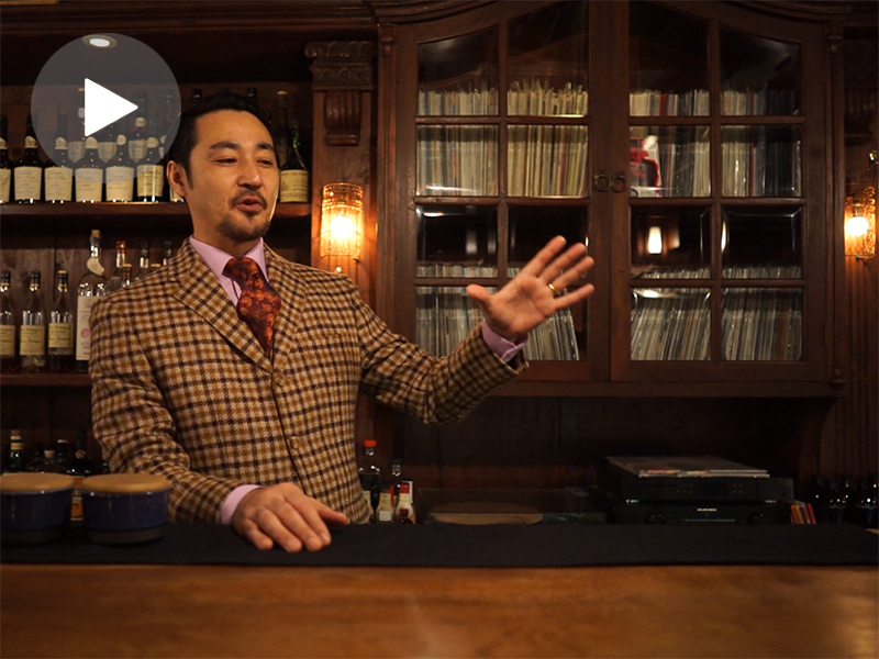 Bar that Japanese Traditional Beauty Reflects|Daiki Kanetaka<D. Bespoke>No.1