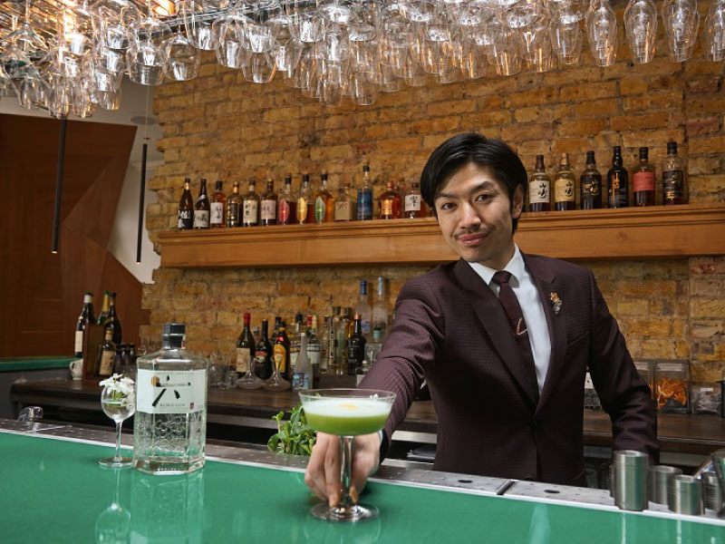 What are the Japanese Style Gin-based Cocktails Popular Among Londoners? |Suntory ROKU × Yashin Ocean House