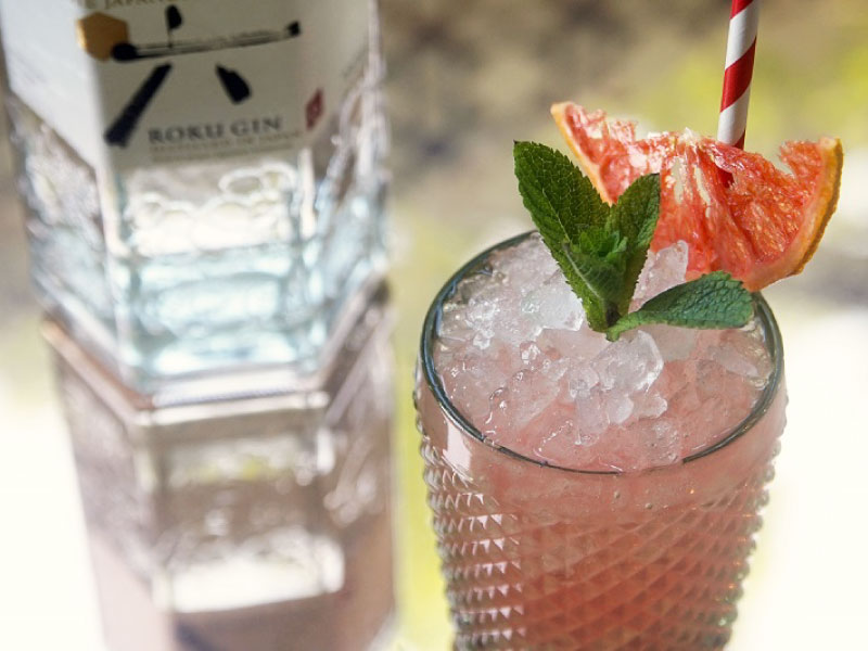 Enjoy Fresh Summer in London with Pink Grapefruit Negroni|Suntory ROKU × Yashin Ocean House