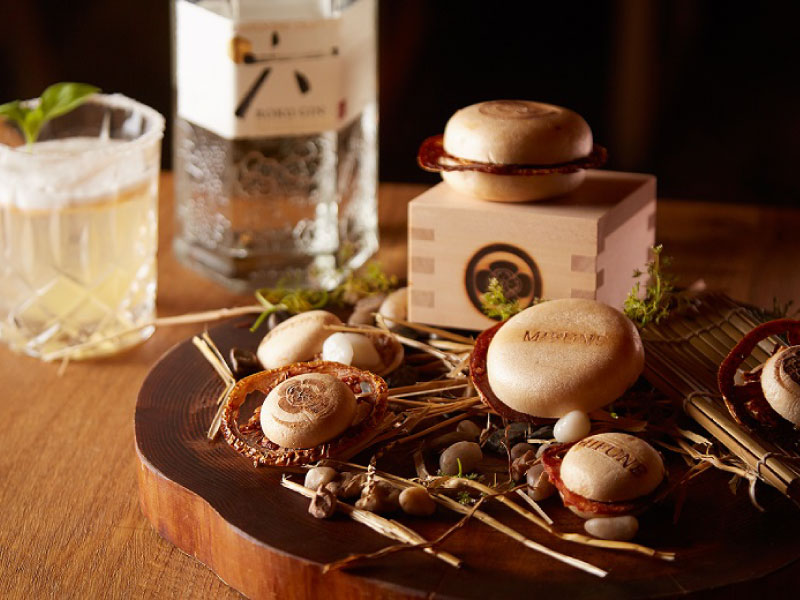 Food and craft gin pairing with a top mixologist and an up-and-coming chef|Suntory ROKU × Mifune New York